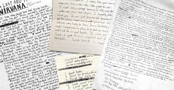 Odręczne pismo Cobaina, Bowiego, Lennona i innych zostało zamienione w darmowe fonty do pobrania<