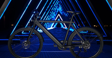 Strøm wygląda jak zwykły rower, ale napędza go wydajny silnik elektryczny