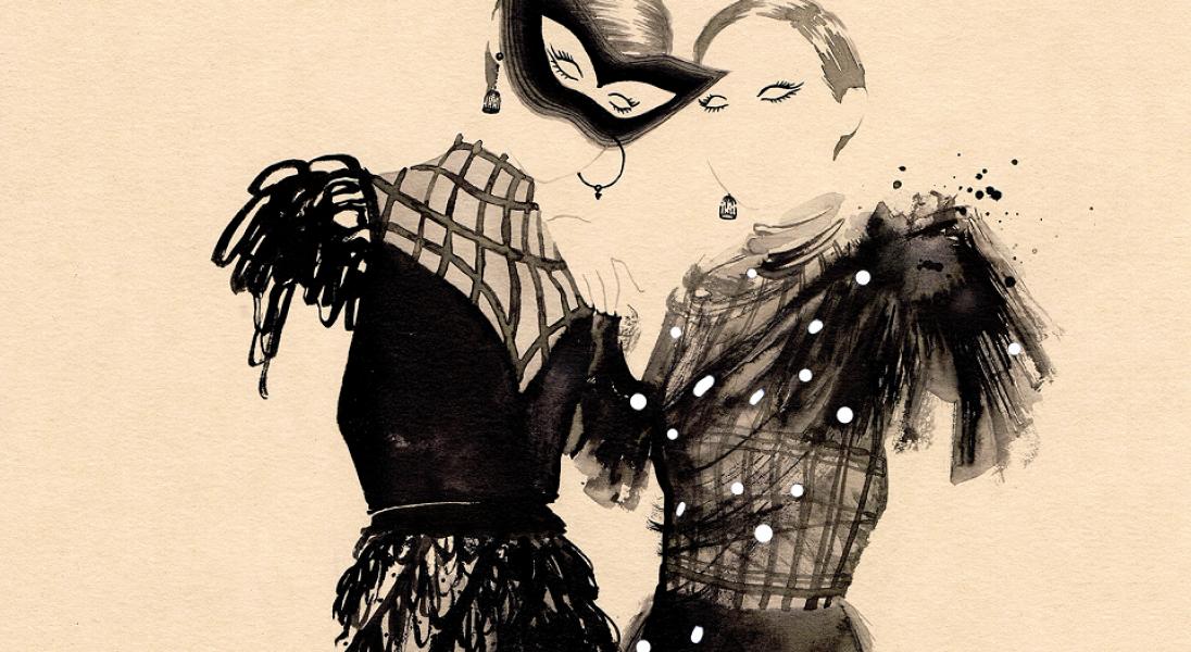 Poza Konturami - wystawa ilustracji modowych Sylwii Dębickiej do zobaczenia w Zatoce Sztuki w Sopocie
