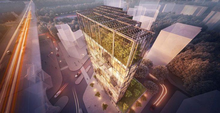 Ekologiczny wieżowiec wyrośnie w Warszawie<