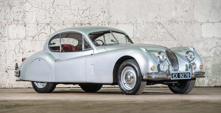 Jaguar XK140 Fixed Head Coupe to klasyka w najlepszym wydaniu<
