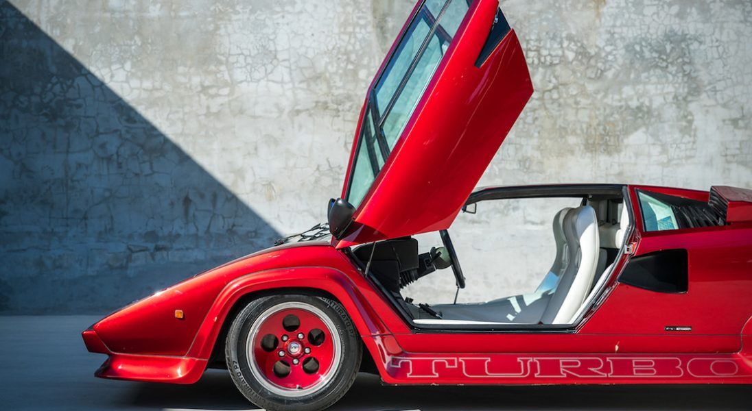Lamborghini Countach - Lambo, które zdefiniowało lata 80.