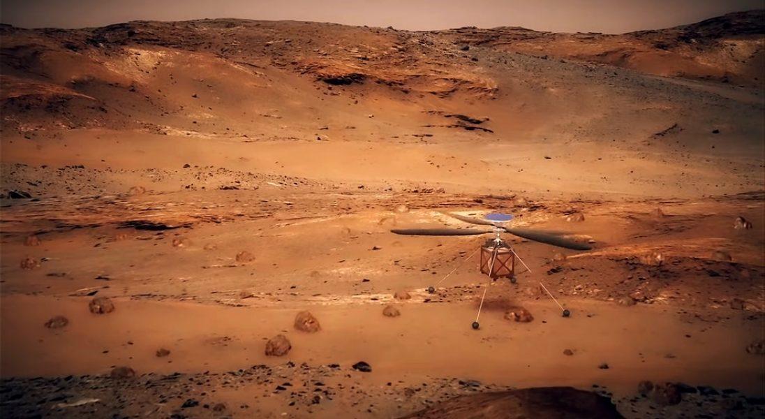NASA zamierza wysłać pierwszy helikopter na Marsa