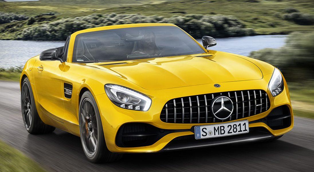 Mercedes-AMG zaprezentował nowy model GT S Roadster