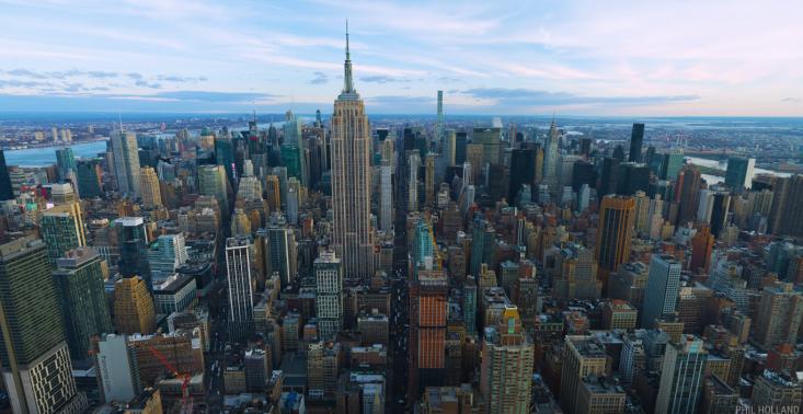 Zobaczcie fenomenalny film w rozdzielczości 12K nakręcony nad Nowym Jorkiem<