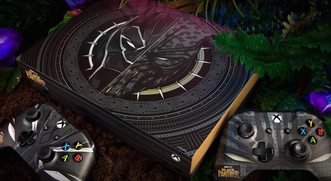 Microsoft wypuścił Xbox X w wersji Black Panther