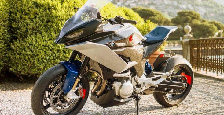 BMW Motorrad zaprezentowało motocykl koncepcyjny 9cento<