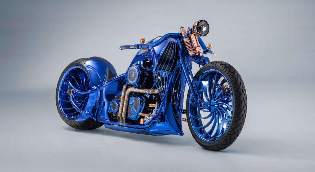 Harley-Davidson Blue Edition to najdroższy motocykl świata