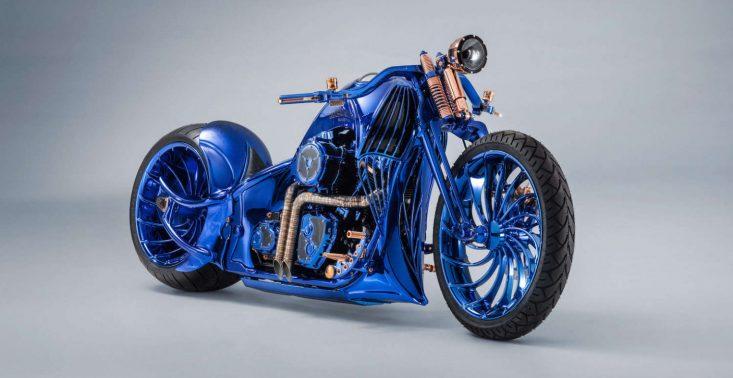 Harley-Davidson Blue Edition to najdroższy motocykl świata<