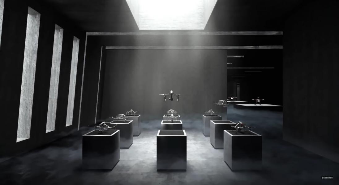 Studio Foster + Partners zaprojektowało wieżowiec przyszłości dla firmy DJI, po którym latają drony
