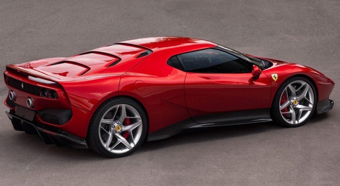 Ferrari SP38 powstało tylko dla jednego klienta
