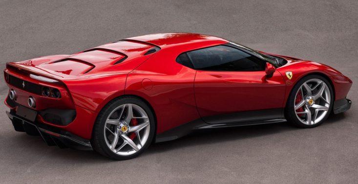 Ferrari SP38 powstało tylko dla jednego klienta<