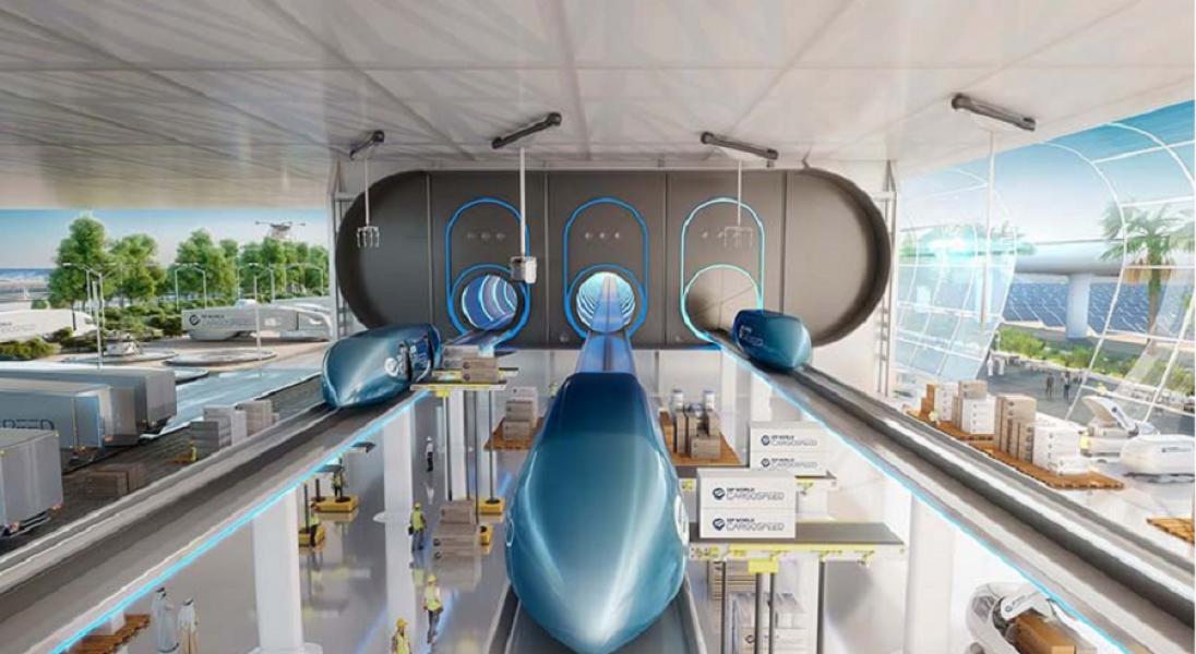 Czy powstanie Hyperloop łączący Azję z Europą? Prace nad projektem ruszyły