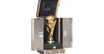 Louis Vuitton stworzył etui na Puchar Mistrzostw Świata w Piłce Nożnej oraz kolekcję akcesoriów dla kibiców