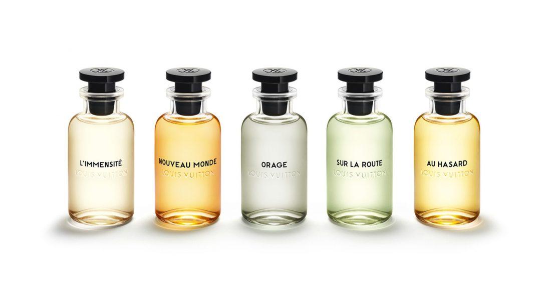 Louis Vuitton wypuszcza pierwszą kolekcję męskich zapachów