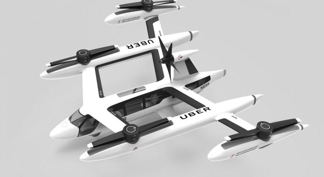 Uber zaprezentował najnowszy projekt latającej taksówki i futurystyczne koncepcje stacji dla pojazdów