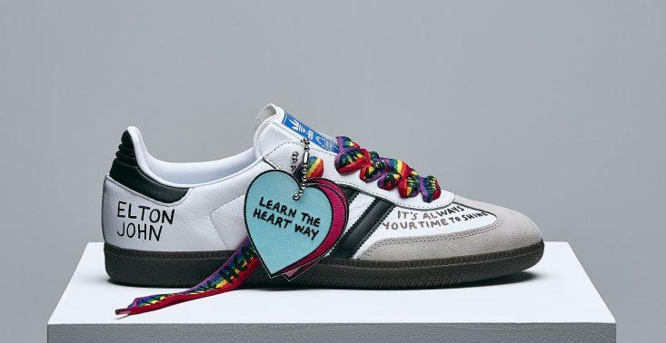 David Beckham, Elton John i inni projektują limitowaną edycję but&oacute;w adidas<