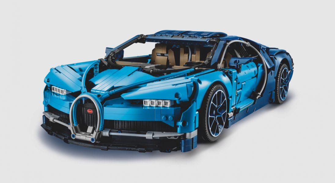 LEGO Technic wypuściło niesamowicie realistyczny model Bugatti Chiron