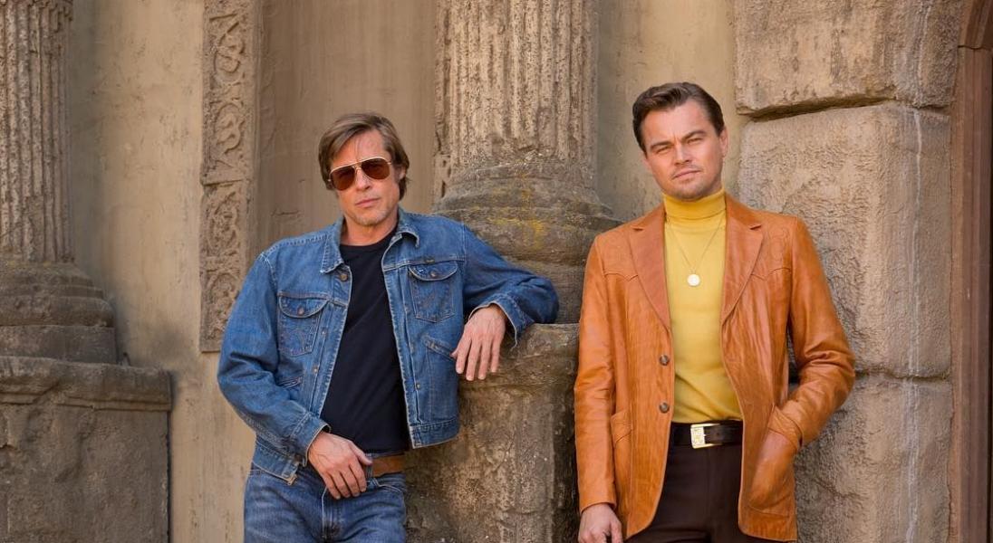 Brad Pitt i Leonardo DiCaprio na pierwszych zdjęciach z planu nowego filmu Tarantino