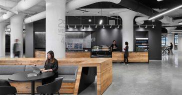 W nowej siedzibie Reeboka znajduje się ogromna siłownia i przestrzeń do coworkingu
