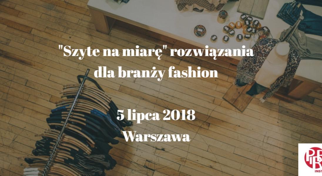 5 lipca w Warszawie spotkają się eksperci z modowego świata