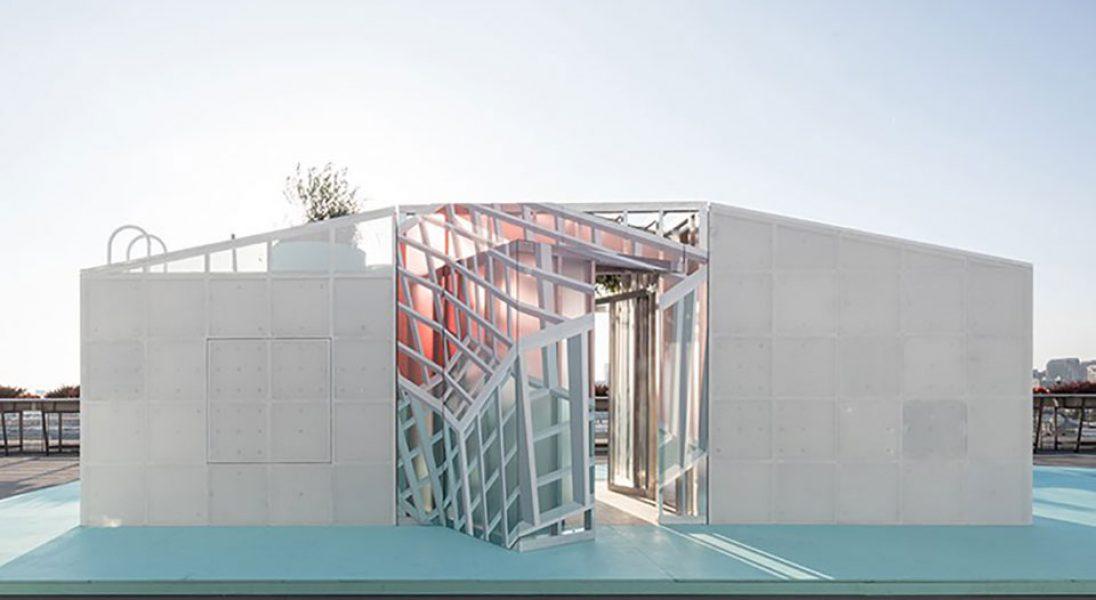 MINI Living pokazało miejską kabinę, którą można postawić na dachu wieżowca