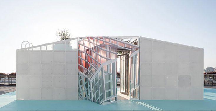 MINI Living pokazało miejską kabinę, kt&oacute;rą można postawić na dachu wieżowca<