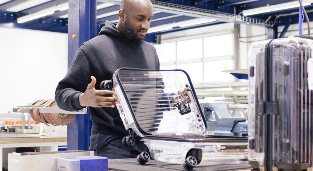 Virgil Abloh z OFF-WHITE zaprojektował transparentne walizki dla RIMOWA