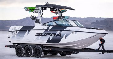 Ken Block stworzył motorówkę do wakeboardu na bazie silnika z Forda Raptora o mocy 575 KM