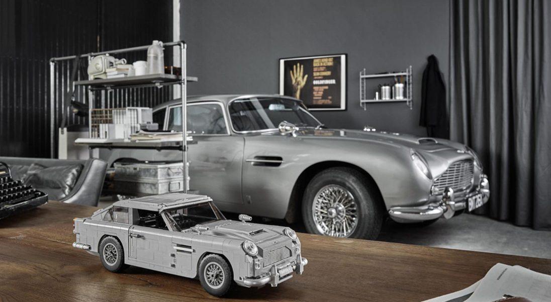 LEGO wypuszcza model ulubionego auta Jamesa Bonda. Aston Martin DB5 składa się z 1290 elementów
