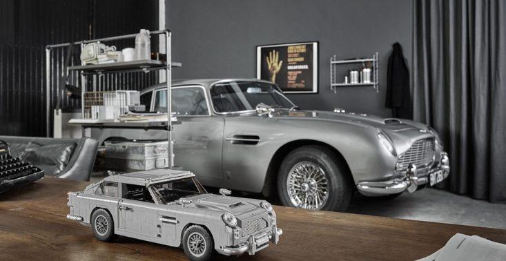 LEGO wypuszcza model ulubionego auta Jamesa Bonda. Aston Martin DB5 składa się z 1290 element&oacute;w<