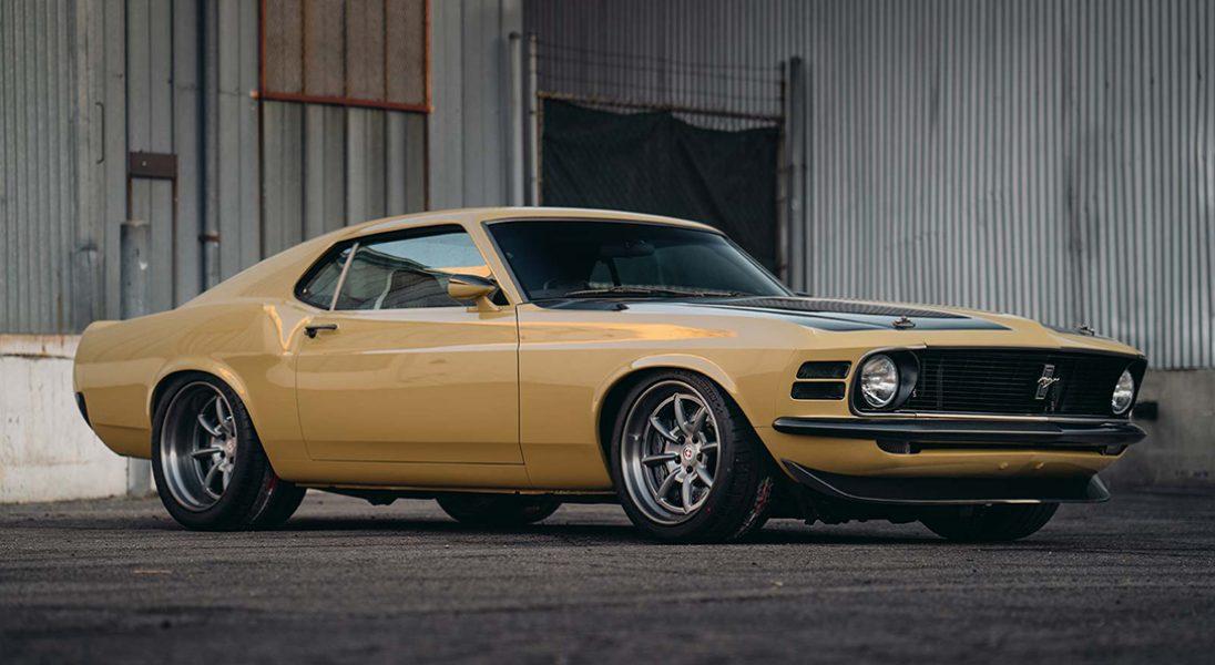 Oto odnowiony Mustang 302 Boss należący do Roberta Downey Jr.