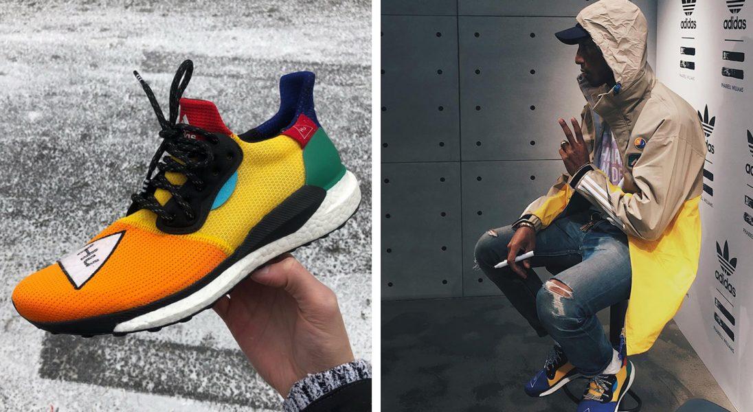 Pharrell projektuje kolejny model butów dla adidasa. Znów
