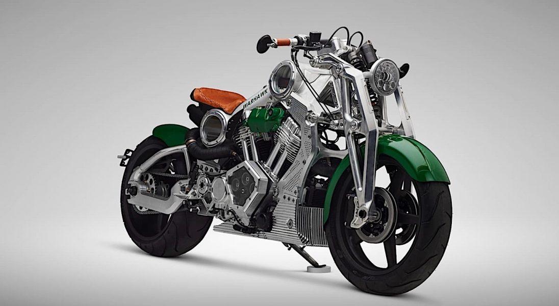 Warsztat Curtiss stworzył swój ostatni motocykl z silnikiem spalinowym