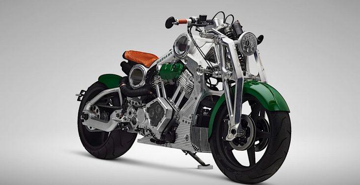 Warsztat Curtiss stworzył sw&oacute;j ostatni motocykl z silnikiem spalinowym<