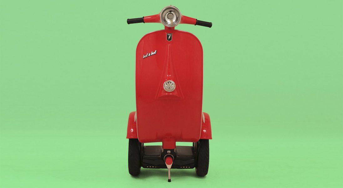 Oto Z-Scooter, czyli segway i skuter w jednym
