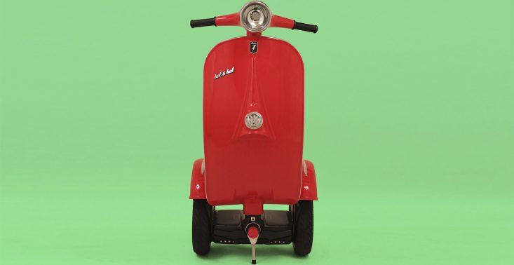 Oto Z-Scooter, czyli segway i skuter w jednym<