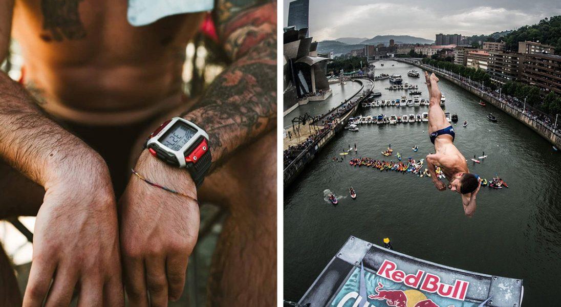 TIMEX stworzył zegarek dla zawodników ekstremalnych skoków z klifu