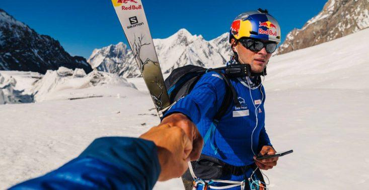 Andrzej Bargiel udostępnił video pokazujące jego zjazd z K2<