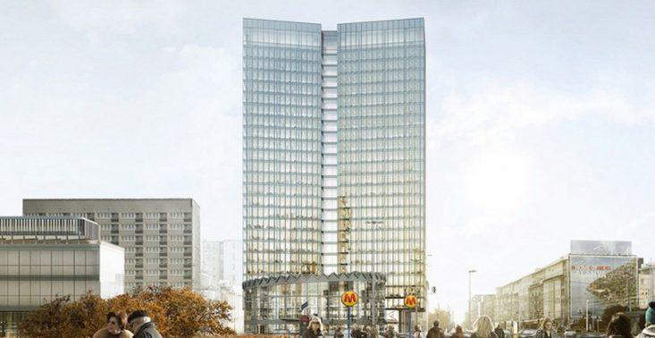 Tak wygląda wieżowiec, kt&oacute;ry zastąpi wyburzony budynek koło Rotundy<