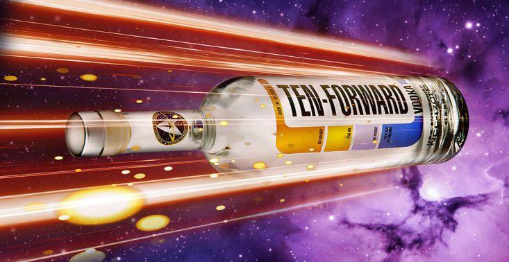 W&oacute;dka stworzona na cześć Star Treka najpierw poleci w kosmos, a potem trafi do butelek<