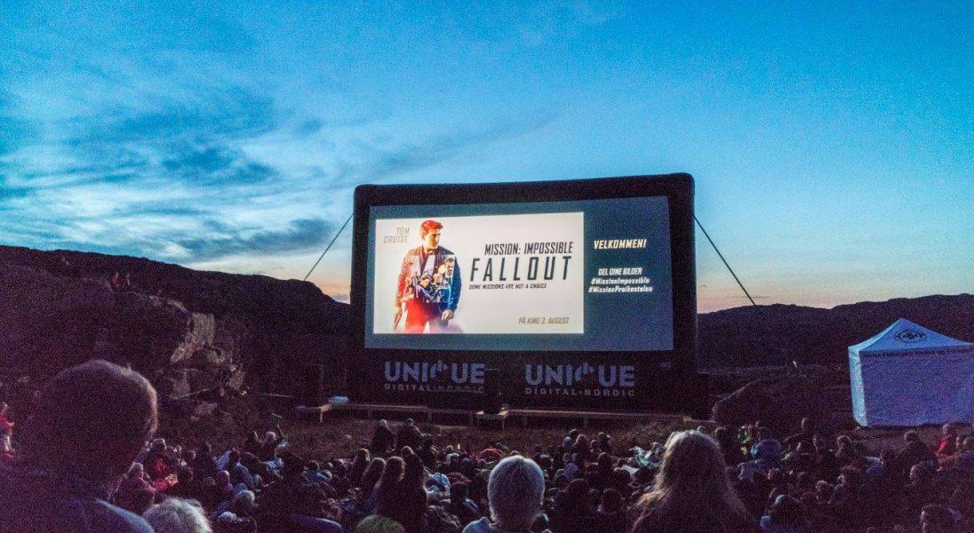 """Spektakularny pokaz """"Mission: Impossible - Fallout"""" odbył się nad 600-metrowym klifem"""