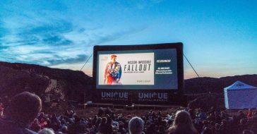 Spektakularny pokaz Mission: Impossible - Fallout odbył się nad 600-metrowym klifem