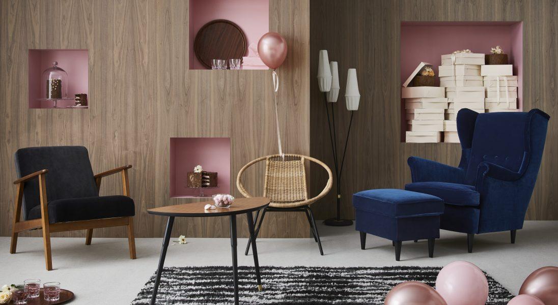 IKEA obchodzi 75 urodziny. Z tej okazji wypuszcza kolekcję swoich najbardziej kultowych mebli
