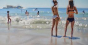 Hiperrealistyczne malarstwo, które pokazuje, co widzą krótkowzroczni po zdjęciu okularów