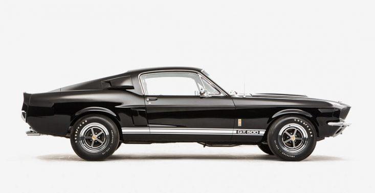 Nacieszcie oczy pięknym Mustangiem Shelby GT500 z 1967 roku<