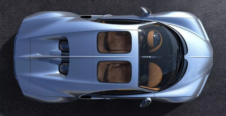 Teraz jadąc Bugatti Chiron możesz podziwiać gwiazdy<