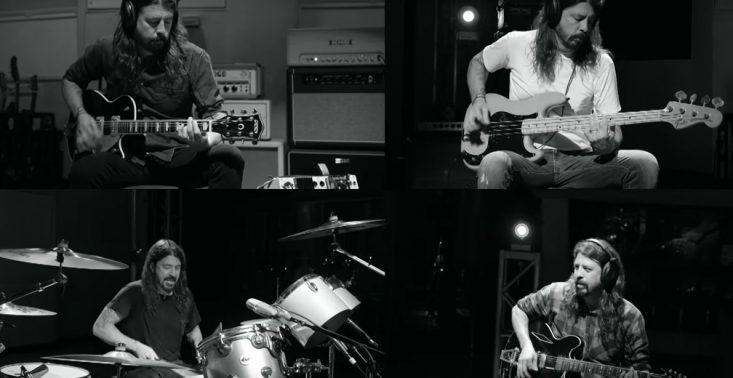 Dave Grohl z Foo Fighters nagrał 23-minutowy utw&oacute;r, w kt&oacute;rym gra na 7 instrumentach<