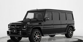 Ta kuloodporna limuzyna od Mercedesa to nie tylko bezpieczeństwo, ale i estetyka