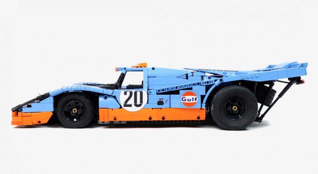 Polak zbudował wierną replikę Porsche 917K z klocków LEGO